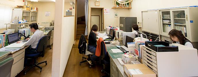 生光園ガーデンの事務所